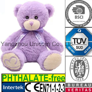 Teddy Bear Microwave Heat Bag Lavender Plush Toy