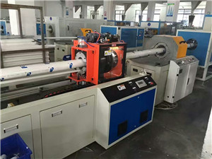 PVC, PVC-C Pipe Plastic Extrusion Line pictures & photos