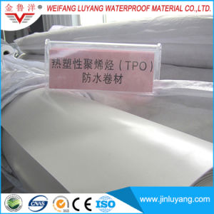 Tpo Waterproof Membrane for Flat Roof with Excellent Weather Resistance pictures & photos