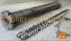 Parallel Twin Screw Barrel for Extruder Machine pictures & photos