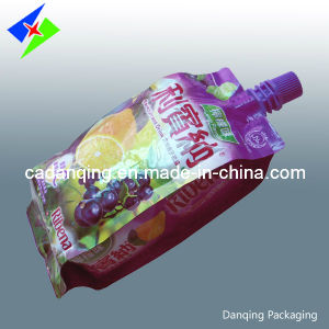Customized Stand up Pouch with Spout, Juice Pouch, Spout Pouch for Jelly Candy (DQ258) pictures & photos