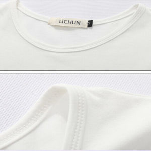 Custom Promotional White Printed T-Shirt Factory /Men`S T-Shirt pictures & photos