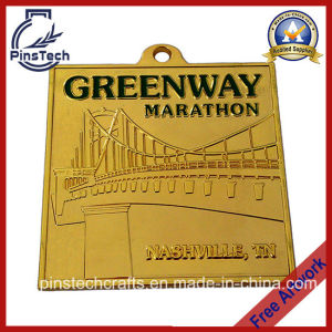 Greenway Marathon Medal, Quality Custom Sports Medal pictures & photos