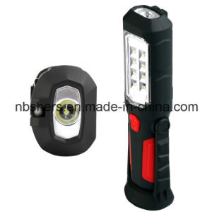 Rechargeable 8 SMD LED Working Light Magnetic Base, Backside pictures & photos
