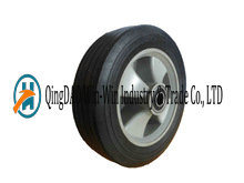 8 Inch Solid Rubber Wheels with Plasticl Rim for Small Trolleys pictures & photos