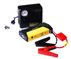 High Quality Car Emergency Tools 12V Lithium Battery Mini Jump Starter with Air Compressor pictures & photos
