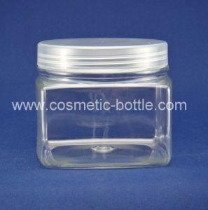 200ml Square Series Spray Cosmetic Jar (FPET250-D)