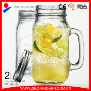 24oz Mason Jars Wholesale with Metal Lid (GB1236) pictures & photos