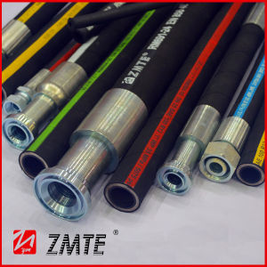 Wire Spiral SAE J517 R15 Industry Hydraulic Hose pictures & photos