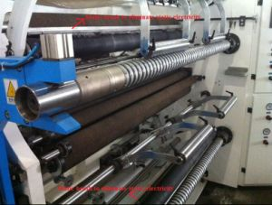 Jumbo Roll Thermal Paper and Adhesive Tape Slitting Machine pictures & photos