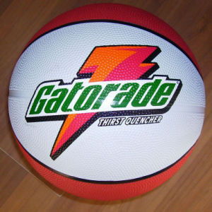 High Quality Official Size Promotion Rubber Basketball pictures & photos