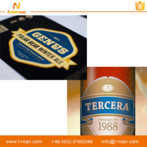 Custom Print Self-Adhesive Paper Beer Label pictures & photos