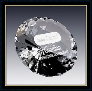 Beautiful Crystal Diamond Paperweights for Gift pictures & photos