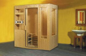 Hs-Sr6012m Luxury Sexks Sauna Room, Sauna Cabin, 2 Person Sauna for Sale pictures & photos