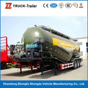 Large Capacity Volume 3 Axles Bulk Cement Tanker Semi Trailer for Sale