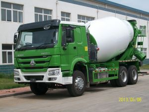 9 M3 Sinotruk HOWO Mixer Truck (ZZ1257M3641) pictures & photos