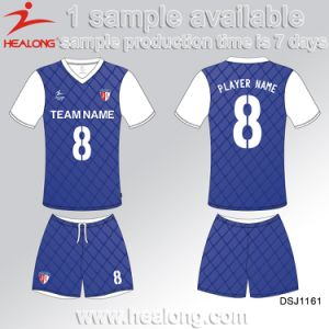 Healong Customized High Quality Sublimated Soccer Jersey pictures & photos