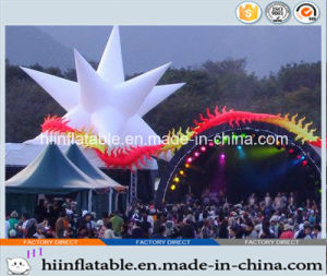2015 Hot Selling Decorative LED Lighting Inflatable Star 0038 for Stage, Perform, Entertainment Decoration