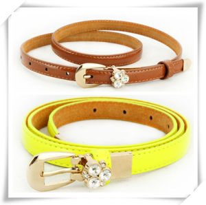 2015 Fashion Leather Belt for Lady (TI06005) pictures & photos