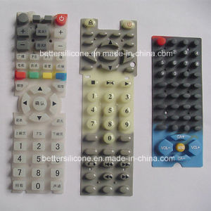 Durable Silicone Rubber Remote Controller Keyboard pictures & photos