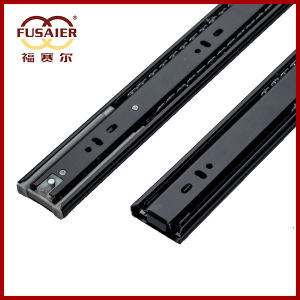 45mm Black Paint Soft-Closing Drawer Runners pictures & photos