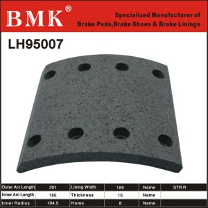 High Quality Brake Linings (LH95007) pictures & photos