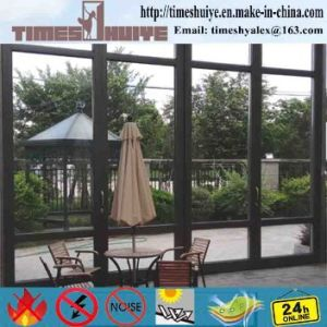 High Quality China Manufacturer Aluminium Folding Doors pictures & photos