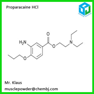 Classical Local Anesthetic Powder Proparacaine Hydrochloride 5875-06-9 pictures & photos