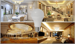 5W 7W 10W 12W 15W 85-265V A60 LED Lamp pictures & photos