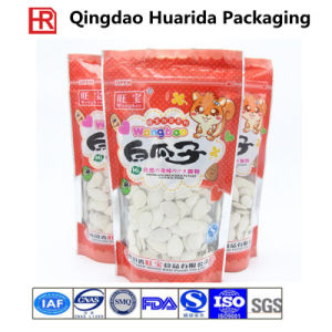 Food Grade Plastic Packaging Pouch for Snack/Nuts with Clear Window pictures & photos