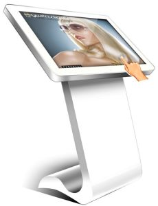 32/42inch Touch All in One PC with Foot Table, Multimedia Player, Ad Player pictures & photos