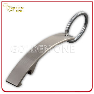 Promotion Gift Brushed Finish Metal Bottle Opener Keychain pictures & photos