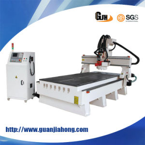 Hat Type, Circle Tool Magazine, Atc, Hsd Spindle, Syntec System, Auto Tool Calibration CNC Router 1325 pictures & photos