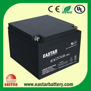 12V 24ah Lead Acid Battery pictures & photos