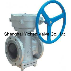 Gear Operation Lubricated Plug Valve (YX43) pictures & photos