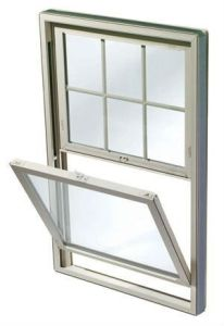 Us Style Aluminum Top Hung & Side Hung Sash Windows (HT-005)