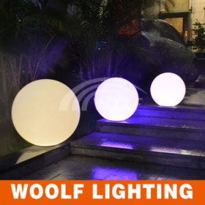 Color Changing Rechargeable Dimmable LED Floor Ball Lamp pictures & photos