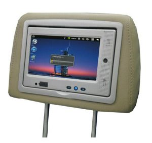Taxi Android Headrest Touch Screens for Advertising pictures & photos