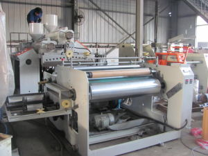 1000mm Double Extrusion Stretch Film Machine pictures & photos