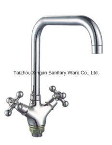 L Pipe Zinc Basin Faucet (16059)