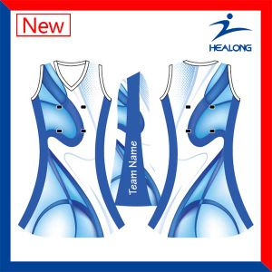 Womens Custom Team Set Cheap Netball Uniforms Dresses Skirts for Sale pictures & photos