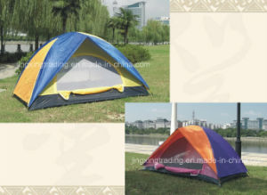Durable Double-Skin Camping Tent for 2 Persons (JX-CT003) pictures & photos