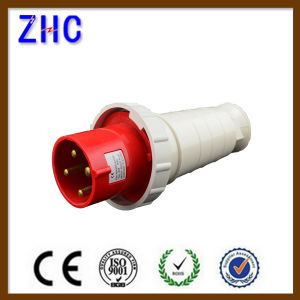 Portable Male Industrial Plug with 380V 63A IP67 pictures & photos
