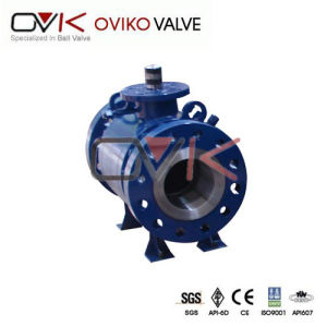 Forged Trunnion Stainless Steel Pressure Reducing Valve API 6D Ball Valve