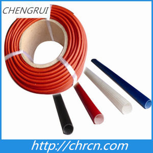 Self-Extinguishable Fiberglass Sleeving Coated with Silicone Resin 2753 pictures & photos