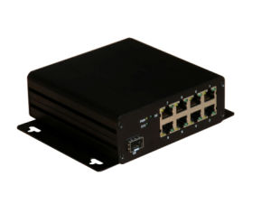 8 Ports 10/100 Industrial Ethernet Poe Switch pictures & photos