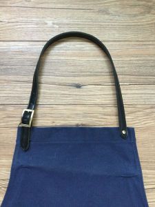 Custom Heavy Duty Waxed Canvas Leather Work Apron for Men pictures & photos
