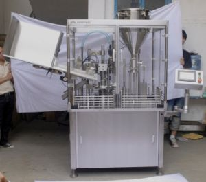 Tube Filling and Sealing Machine for Plastic Tubes/Laminated Aluminum Tubes (JNDR50-1A)