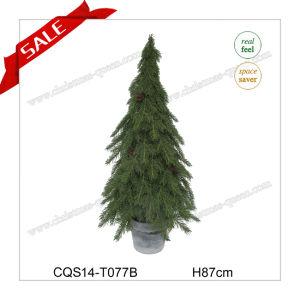 H87cm Hot Sale Plastic Christmas Supplies Decoration Christmas Tree pictures & photos