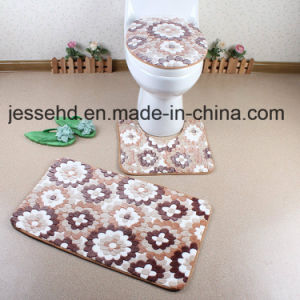 Comfortable Waterproof Bathroom Floor Carpet 3PCS Set pictures & photos